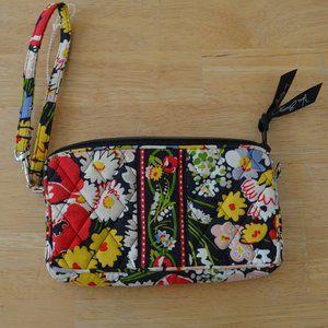 Vera Bradley Bags Poppy Fields Wristlet Purse